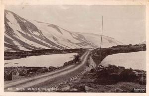 Norge Norway Mellem Grotti og Stryn Real Photo Antique Postcard J64446