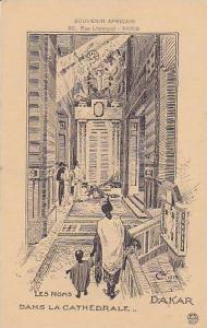 AS, Interior- Dans La Cathedrale, Les Noms, Dakar, South Africa, 1900-1910s