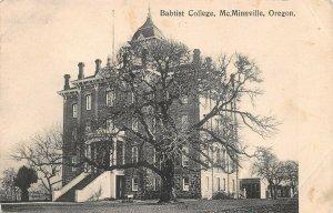 LPS71 McMinnville Oregon Baptist College Postcard