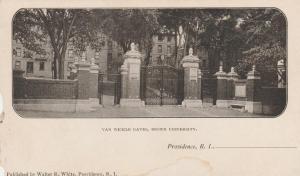 Van Wickle Gates - Brown University, Providence RI, Rhode Island - UDB