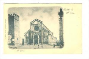Saluti da Verona, Italy, 1890s   S. Zeno