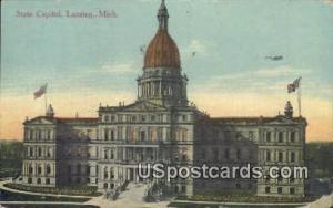 State Capitol Lansing MI 1914