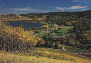 Canada Aerial View Elkwater Alberta