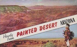 Arizona Howdy From Painted Desert