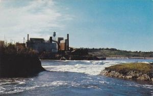 High Tide , St John , New Brunswick , Canada , 40-60s