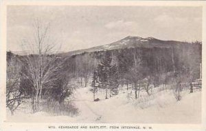 New Hampshire Intervale Mts Kearsarge and Bartlett Albertype