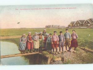 Divided-Back CHILDREN SCENE Great Postcard AA5203