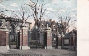 PROVIDENCE, Rhode Island, 1900-1910's; New Gatew, Brown University