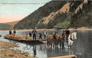 br105602 supplies going to camp on the restigouche canada New Brunswick