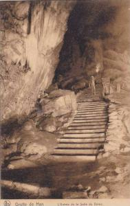 Grotte de Han, L'Entree de la Salle du Dome, Rochefort, Namur, Belgium, 00-10s