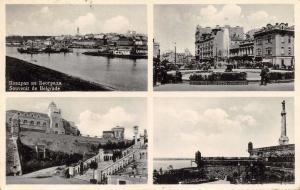 Vintage 1931 Postcard Souvenir de BELGRADE Serbia Multiview #B