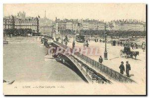 Old Postcard Lyon Lafayette Bridge