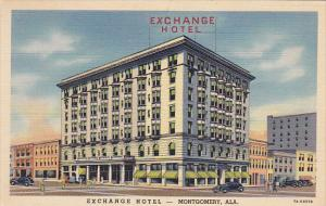 Alabama Montgomery Exchange Hotel Curteich