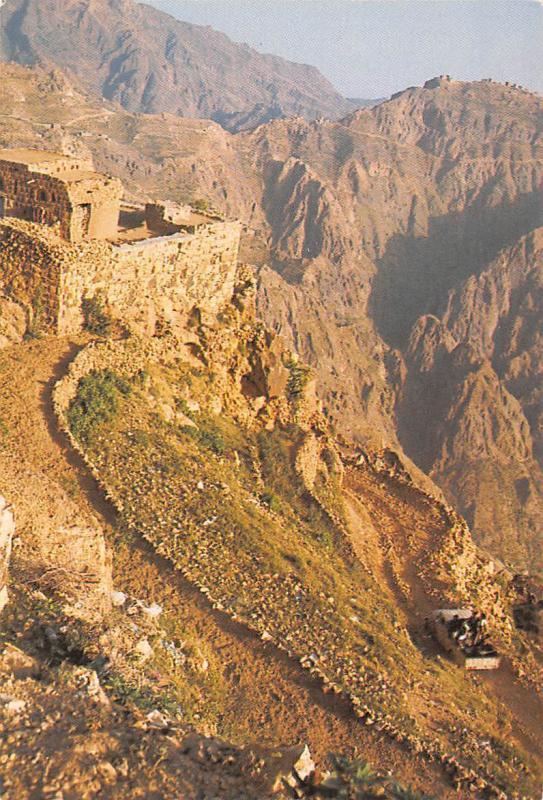 Yemen Sana'a Yemen Arab Republic Car Auto Mountains