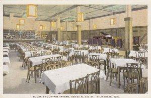 MILWAUKEE , Wisconsin , 1910s ; Budar's Fountain Tavern