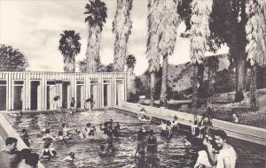 Swimming Pool At Paraiso Hot Springs California Albertype
