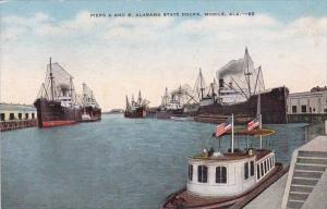 Piers And B Alabama State Docks Mobile Alabama