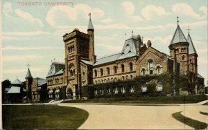 Toronto University Ontario ON Richmonde Sales Postcard G70