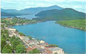 Lake Placid and Whiteface Mt. Lake Placid, New York,  Chrome