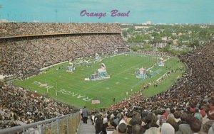 MIAMI , Florida , 50-60s ; Orange Bowl, Football Stadium