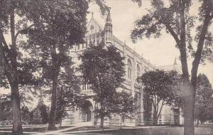 New Jersey Princeton The Chapel Princeton University Albertype