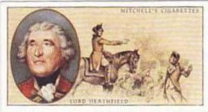 Mitchell Vintage Cigarette Card Famous Scots No 26 George Augustus Eliot Lord...