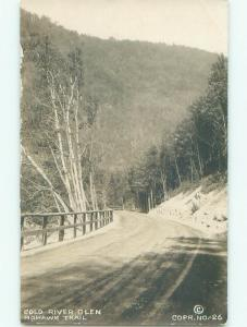 Pre-1920's rppc CHARLEMONT Near Williamstown & Pittsfield & Greenfield MA i5819