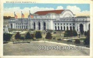New Union Station, Washington DC, District of Columbia, USA Depot 1931 crease...