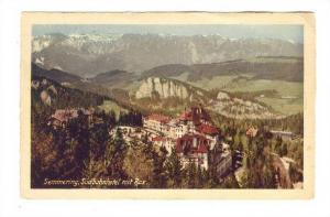 Semmering, sudbahnhotel mit Rax , Austria , 1934