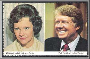 President Jimmy Carter & Rosalynn Inaugurated 1977 - [MX-292]