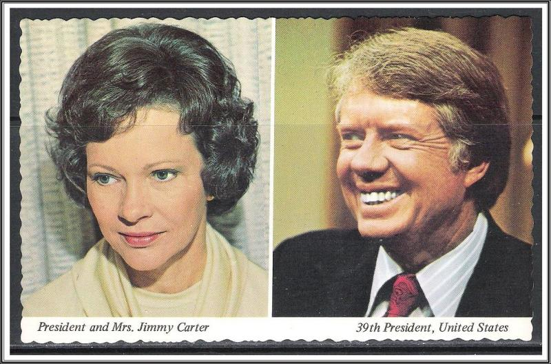 President Jimmy Carter & Rosalynn Inaugurated 1977