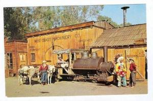 Old  Train  OLD BESTY , Knott´s Berry Farm Ghost Town, Buena Park, Californi...