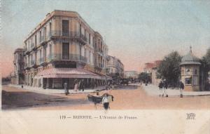 BIZERTE, Tunisia, 1900-1910's; L'aVenue De France