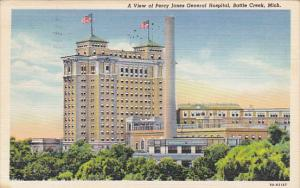 Michigan Battle Creek Percy Jones General Hospital 1945 Curteich