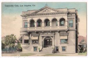 Concordia Club, Los Angeles Ca