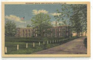 Roosevelt senior high school, Monticello, Indiana,30-40s