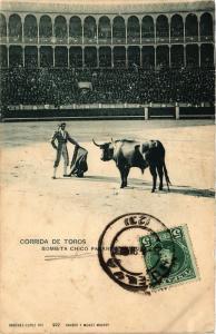 CPA Espagne CORRIDA DE TOROS - Bombita chico (304761)