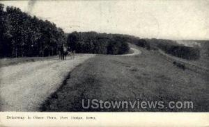 Driveway in Olson Park Fort Dodge IA 1909
