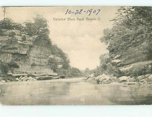 Postcard Black Hand Newark Ohio # 465A
