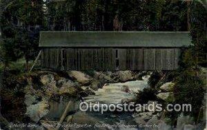 Prospect Bridge - Rogue River, Oregon