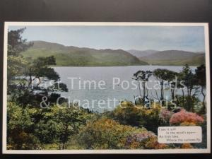 c1940's Ireland I see it still, in the mind's eye, an irish lake, where the..