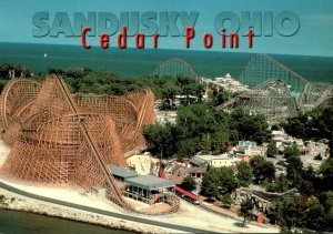 Ohio Sandusky Cedar Point Amusement Park Roller Coaster