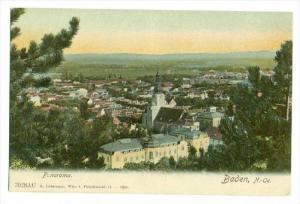 Baden , N.-Oe., Austria. PU-1907, panorama
