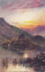 TUCK 6679 ; Ellens Isle and Ben A'an , Loch Katrine , Scotland , 00-10s