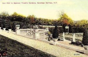 New York Saratoga Springs Sun Dial In Spencer Trasks Gardens