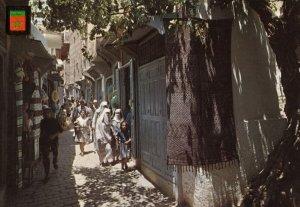 FES , Morocco , 1950-70s ; Calle de la Medina