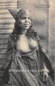Mauresque du Sud Arab Nude Postcard Scenes et Types Unused