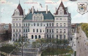 New York Albany State Capitol Building 1908