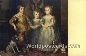Dresden Germany, Deutschland Postcard Antonio van Dyck  Antonio van Dyck