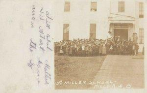 RP; MILLER, South Dakota , 1907 ; School & Students